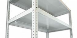 Fachboden - Schraubregal Biedrax 30 x 150 cm - weiss