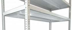 Fachboden - Schraubregal Biedrax 50 x 150 cm - weiss