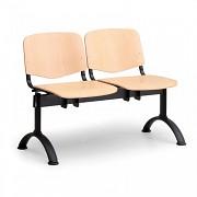 Wartezimmerbank ISO Biedrax LC9740 - Gestell schwarz