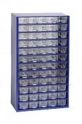SCHRAUBENBOX, SCHRAUBEN ORGANIZER - BIEDRAX 6750 BLAU