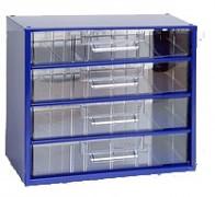 Schraubenbox, Schrauben Organizer - Biedrax 6766 blau