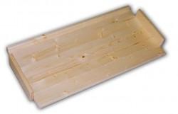 Holzregal Massivholz Ersatzfachböden 43 x 68 cm
