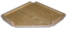 Holzregal Massivholz Ersatzfachböden 70 x 70 cm