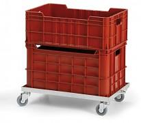 Fahrgestell für Kisten  - 60x40cm Biedrax PPP1504