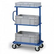Stahlwagen für Kisten - Biedrax VP3561