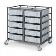 Stahlwagen für Kisten - Biedrax VP3601