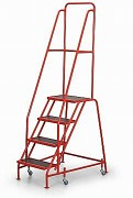 Fahrbare Treppen mit Plattform - 4 Treppen Biedrax PS3869