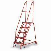 Fahrbare Treppen mit Plattform - 5 Treppen Biedrax PS3872