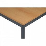 Bürotisch 80 x 120 cm Biedrax JS4645TSB - dunkel grau - Buche