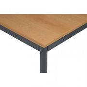 Bürotisch 80 x 160 cm Biedrax JS4651TSB - dunkel grau - Buche