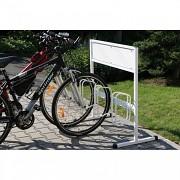 Fahrradständer mit Werbungtafel SK1602 - 3 plätze