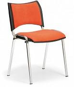 Konferenzstuhl - gepolstert, orange Biedrax Z9106O