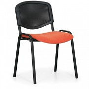 Konferenzstuhl - gepolstert, orange Biedrax Z9850O