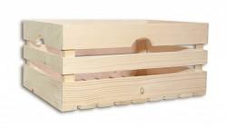 Holzkiste 46 x 32 x 21 cm - Biedrax
